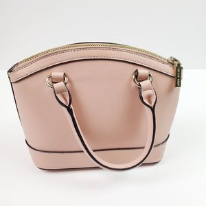 Ann Klein Light Pink Frame Doctor Purse Bag